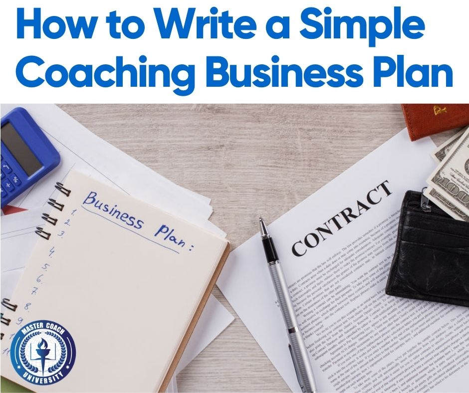 How to Write a Simple Coaching Business Plan