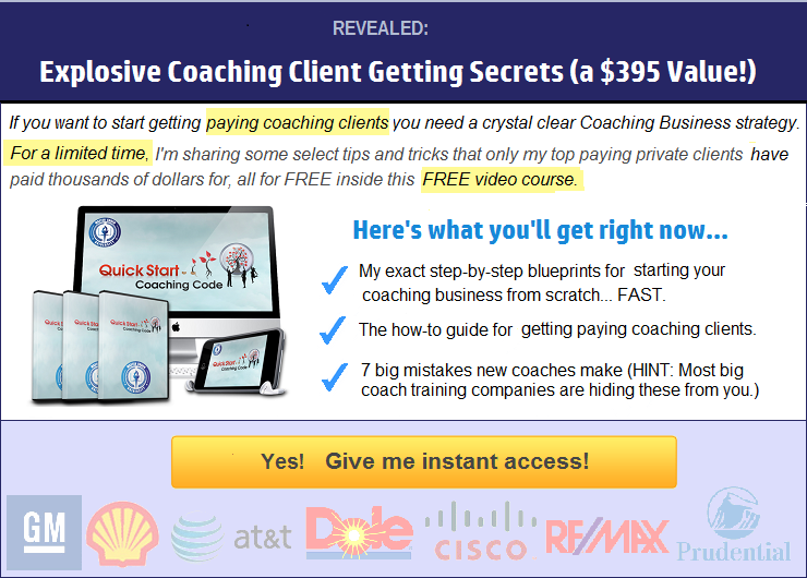 FREE Video Course: How To Build a High Paying Coaching Business